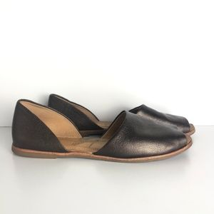 Franco Sarto Venezia D'orsay Open Toe Flat Sandal